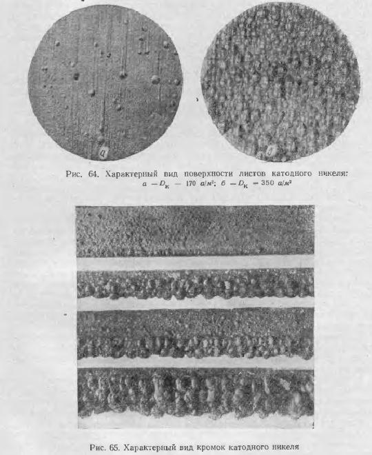 листов катодного никеля,